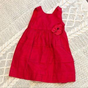 Janie & Jack Red 18-24 Month Dress